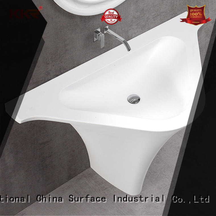 high-end solid surface basin top-brand for shower room