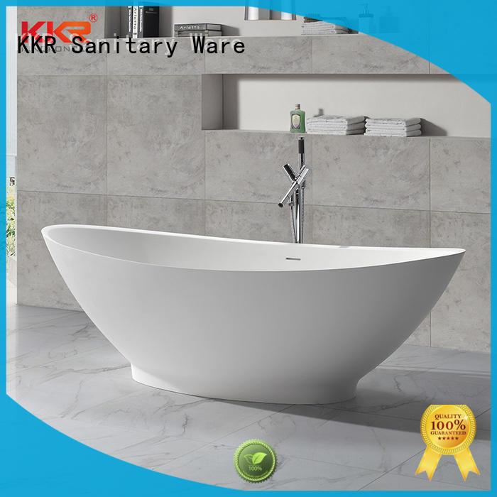 white round freestanding bathtub custom for bathroom