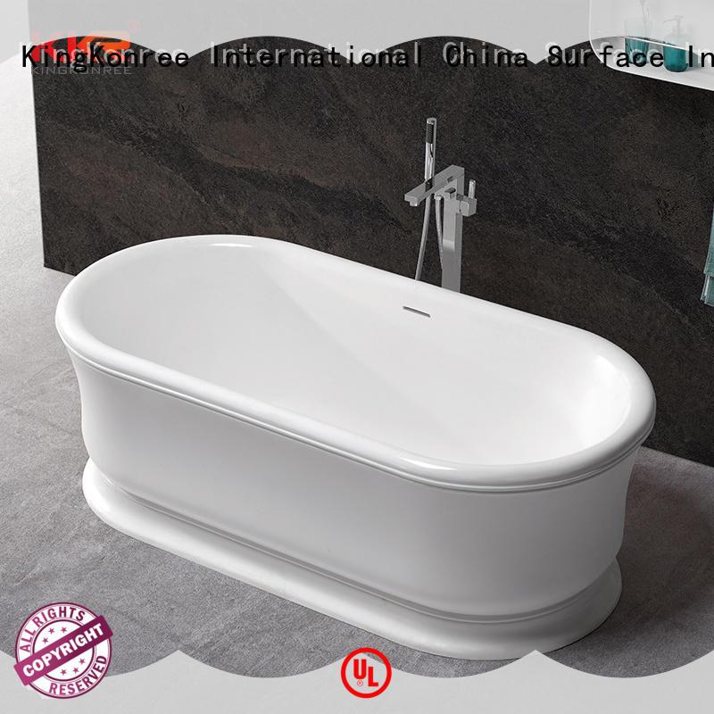 black sanitary ware manufactures customized for hotel KingKonree