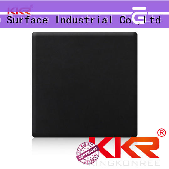 solid surface sheets prices black for home KingKonree