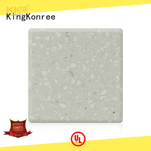 KingKonree 30mm acrylic solid surface sheet for restaurant
