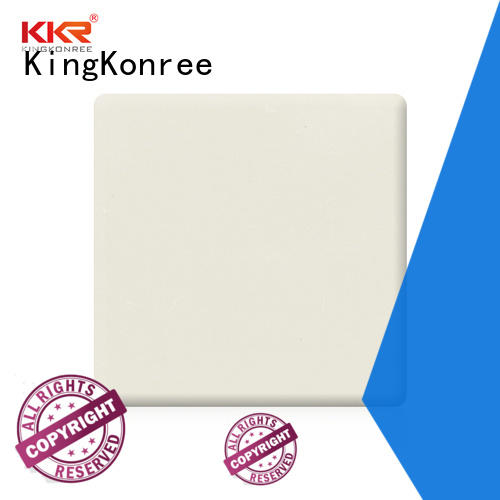 KingKonree grey solid surface countertop sheets design for room
