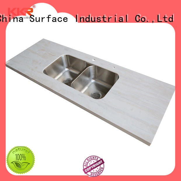 KingKonree glossy solid surface worktops manufacturer for hotel