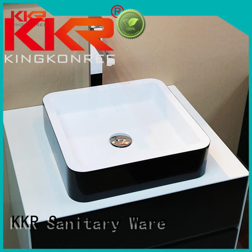 square oval above counter basins above KingKonree Brand company