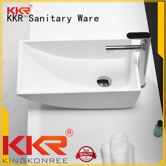 KingKonree Brand selling oval above counter basin kkr supplier