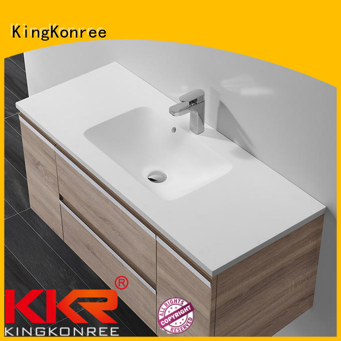 basin with cabinet price basin cloakroom basin with cabine KingKonree Brand
