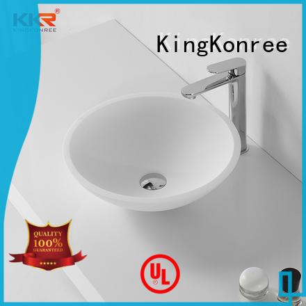 KingKonree morning above counter sink manufacturer for hotel