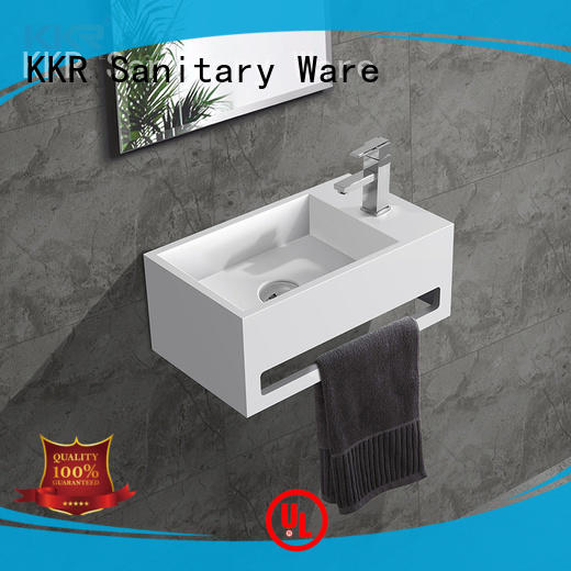 KingKonree mounted wall basin marble for toilet