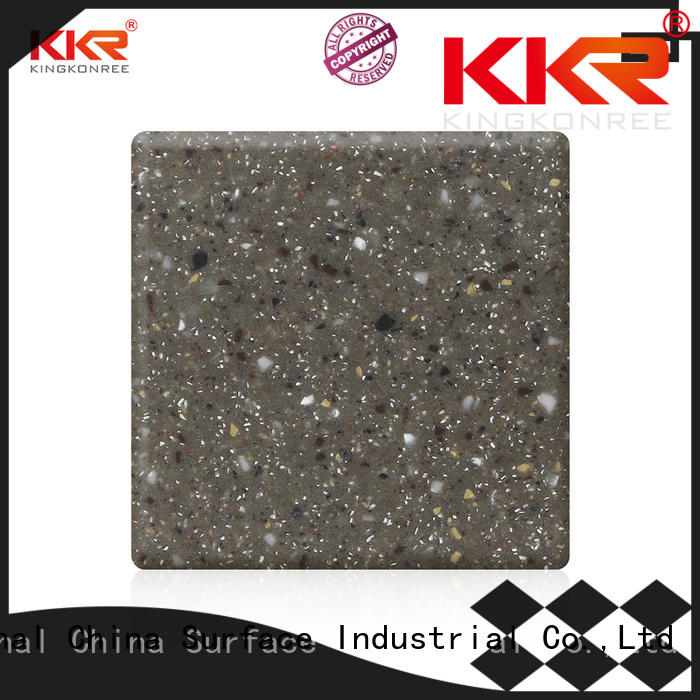 KingKonree dove acrylic solid surface sheets suppliers design for hotel