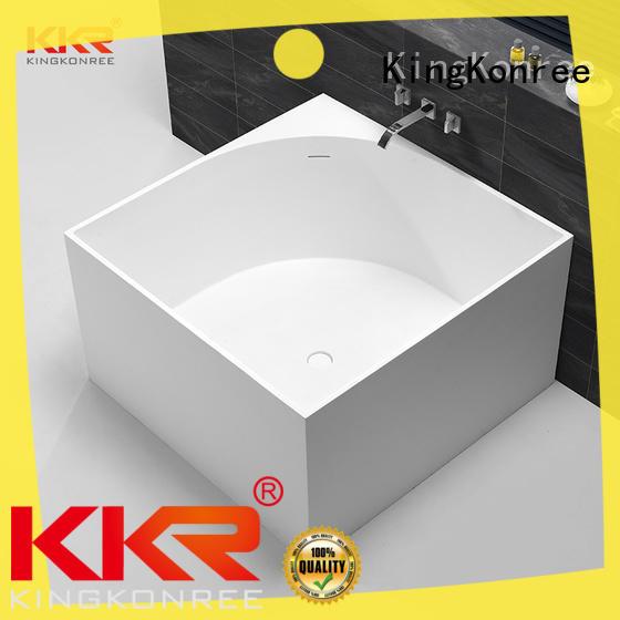 KingKonree overflow stand alone bathtubs for sale custom