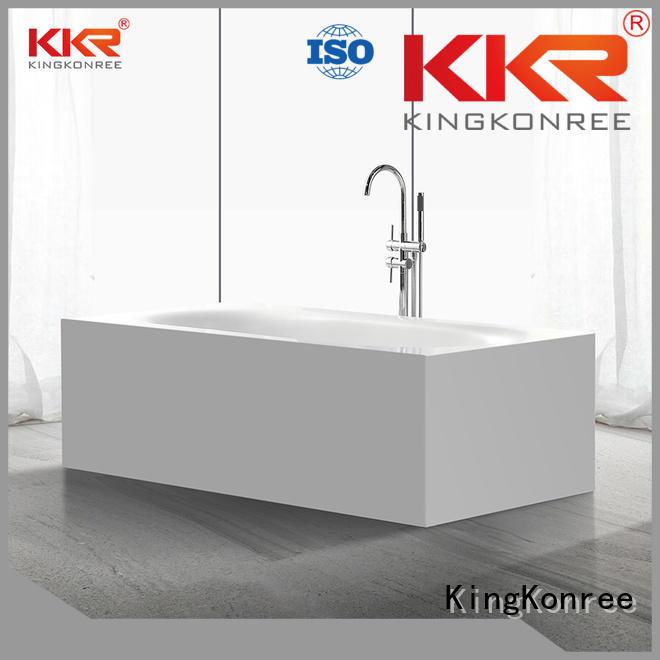 shape Custom b002c solid surface bathtub bathtub KingKonree