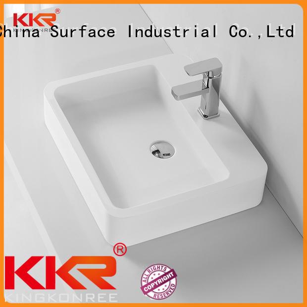KingKonree solid solid surface basin on-sale