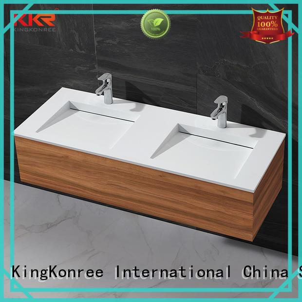KingKonree quality rectangular wash basin manufacturer for motel