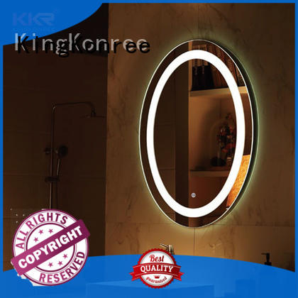 KingKonree modern design buy bathroom mirror sanitary ware for hotel