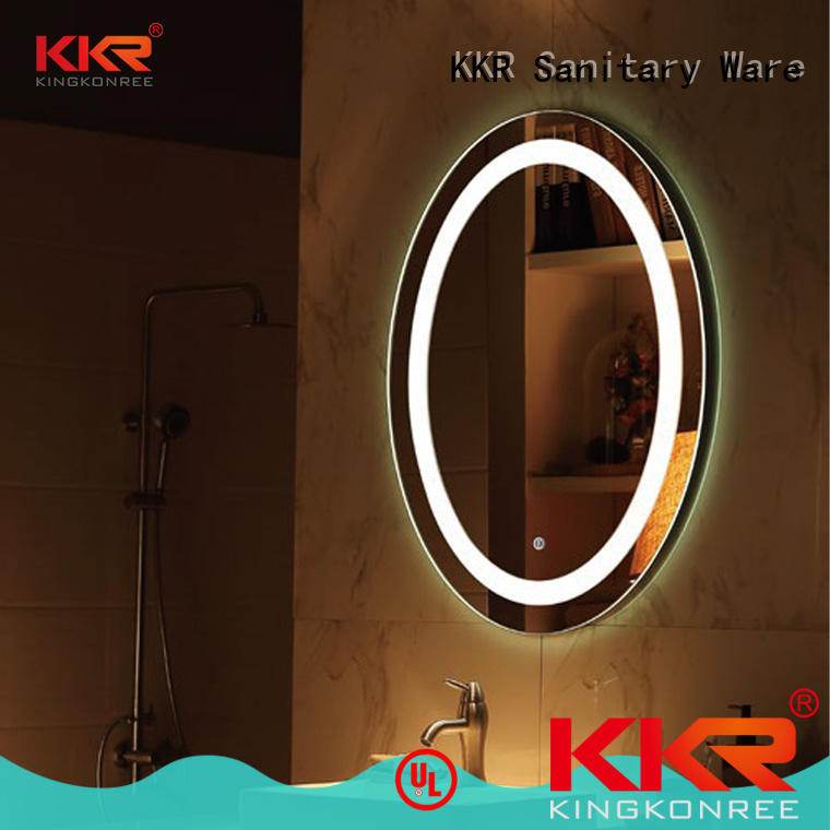 KingKonree large vanity mirror manufacturer for toilet