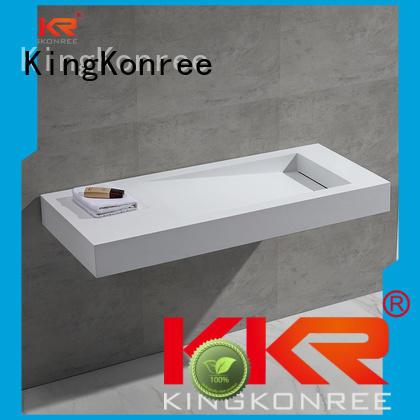 wall mounted bathroom basin marble wash KingKonree Brand