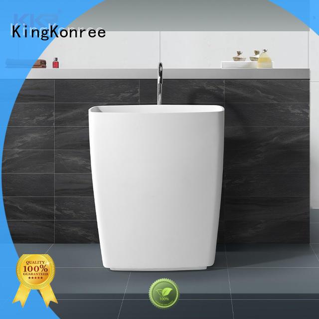 KingKonree rectangle bathroom sink stand supplier for hotel