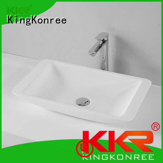 High Quality Above Counter Acrylic Solid Surface Basin With Competitive Price KKR-1321