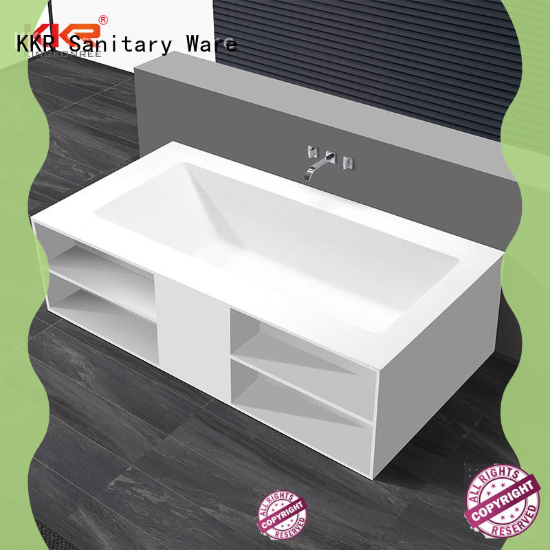 KingKonree overflow stone resin bath at discount