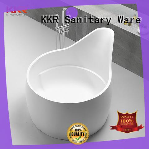 KingKonree small stand alone bathtub ODM for bathroom