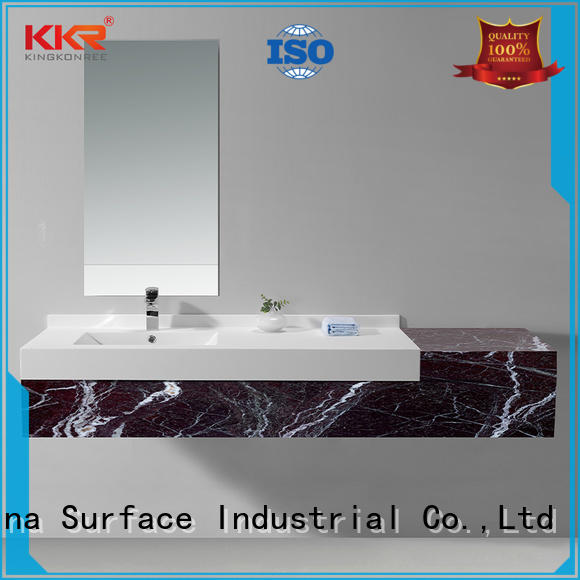 KingKonree rectangular wash basin design for motel