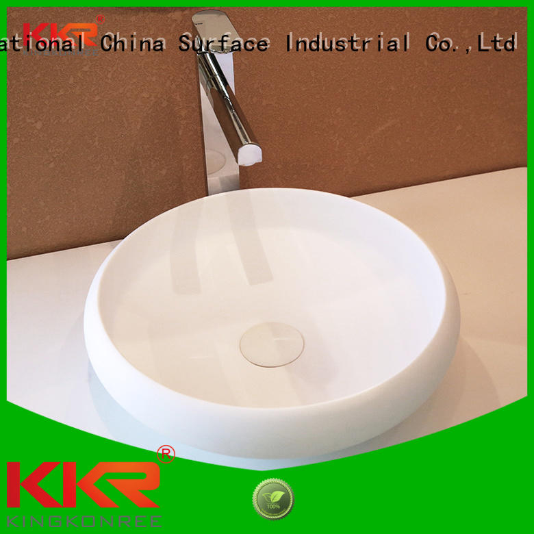 Quality KingKonree Brand surface basin above counter basins