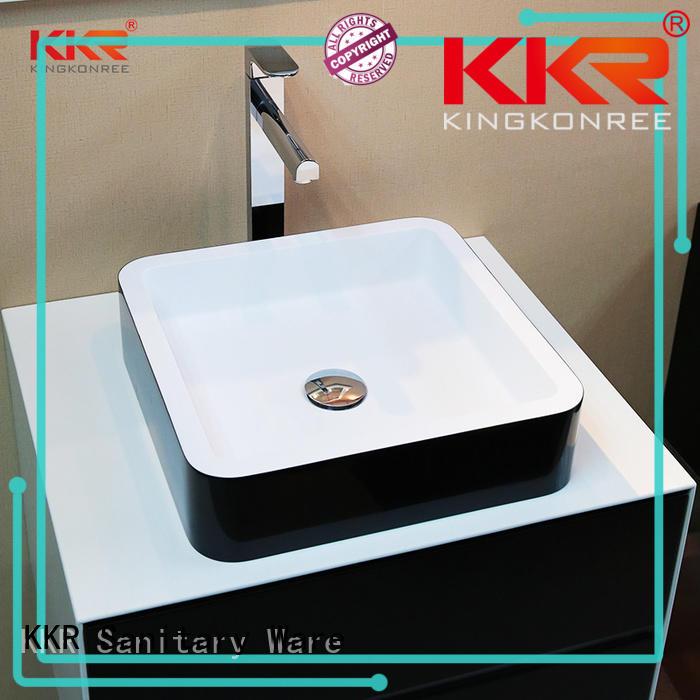above counter vessel sink for room KingKonree