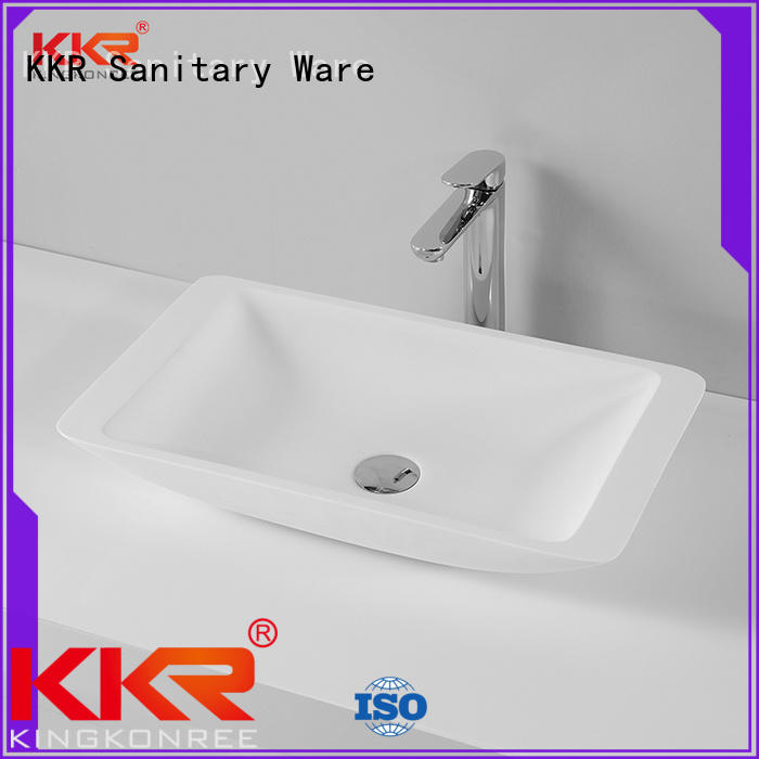 durable above counter sink bowl manufacturer for restaurant