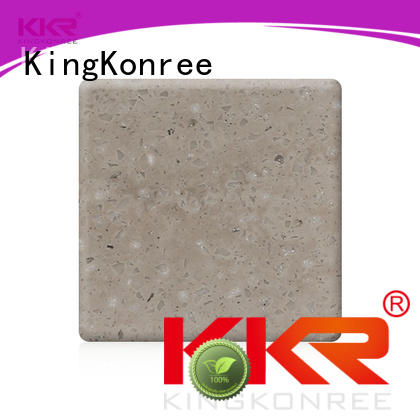 acrylic solid surface sheet manufacturer for indoors KingKonree