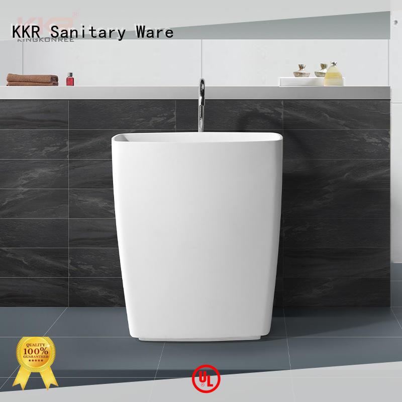 KingKonree freestanding pedestal sink design for home