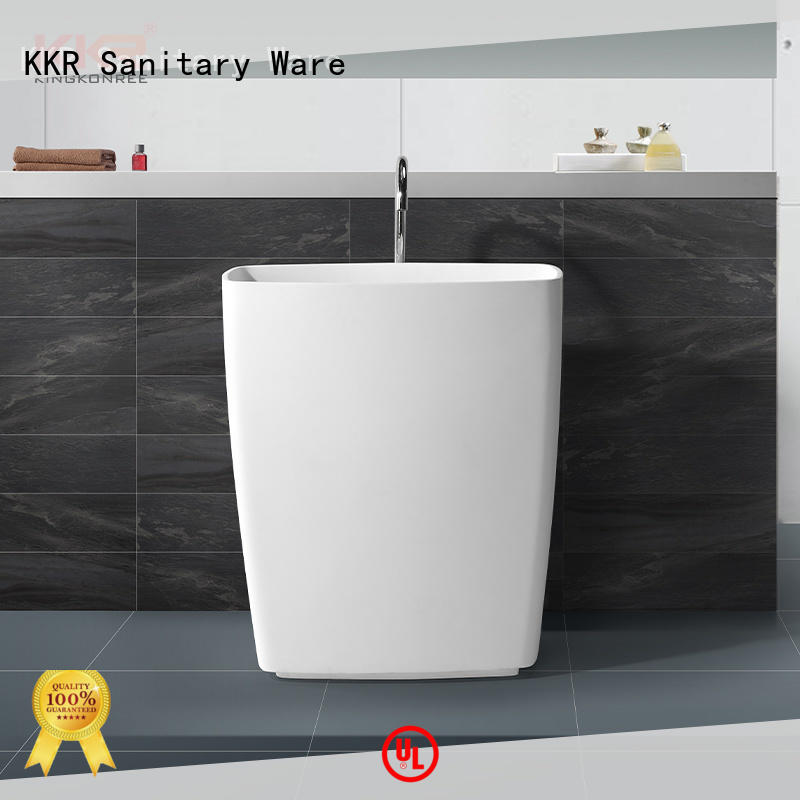 KingKonree freestanding pedestal sink design for home