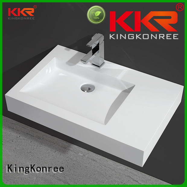 double washroom basin sink for hotel