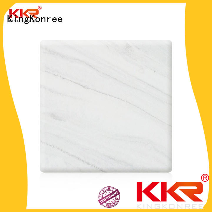 artificial solid surface sheets manufacturer for room