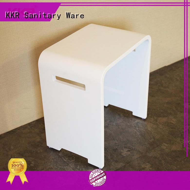 KingKonree bath shower stool design for restaurant