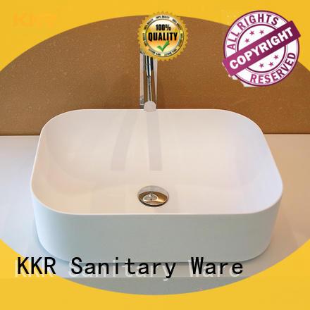 KingKonree elegant bathroom countertops and sinks cheap sample for hotel