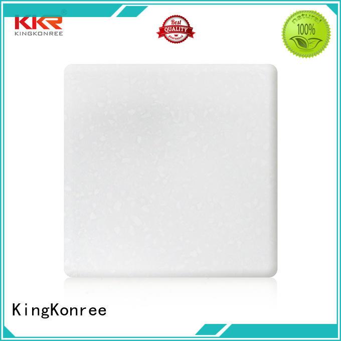 KingKonree soild acrylic stone sheet for home