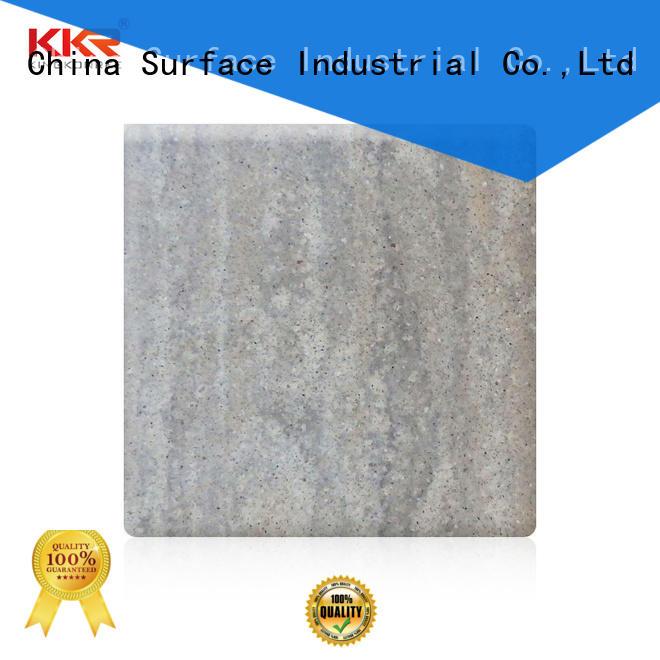 KingKonree popular wholesale solid surface sheets resin for indoors