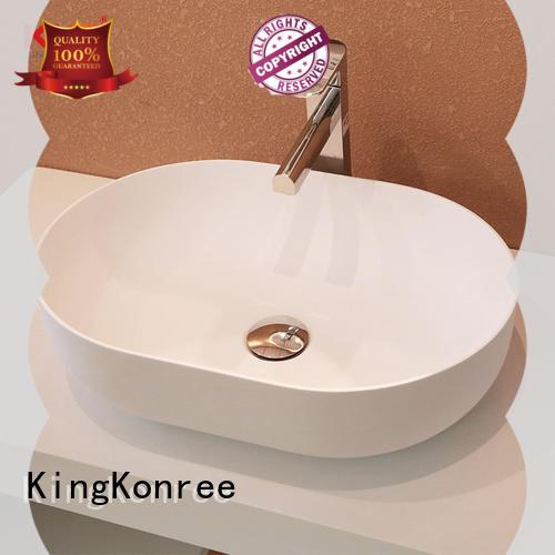 black above counter vessel at discount for hotel KingKonree
