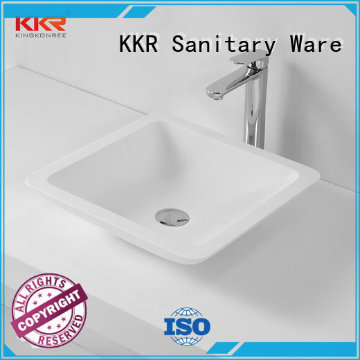KingKonree approved above counter vanity basin cheap sample for hotel