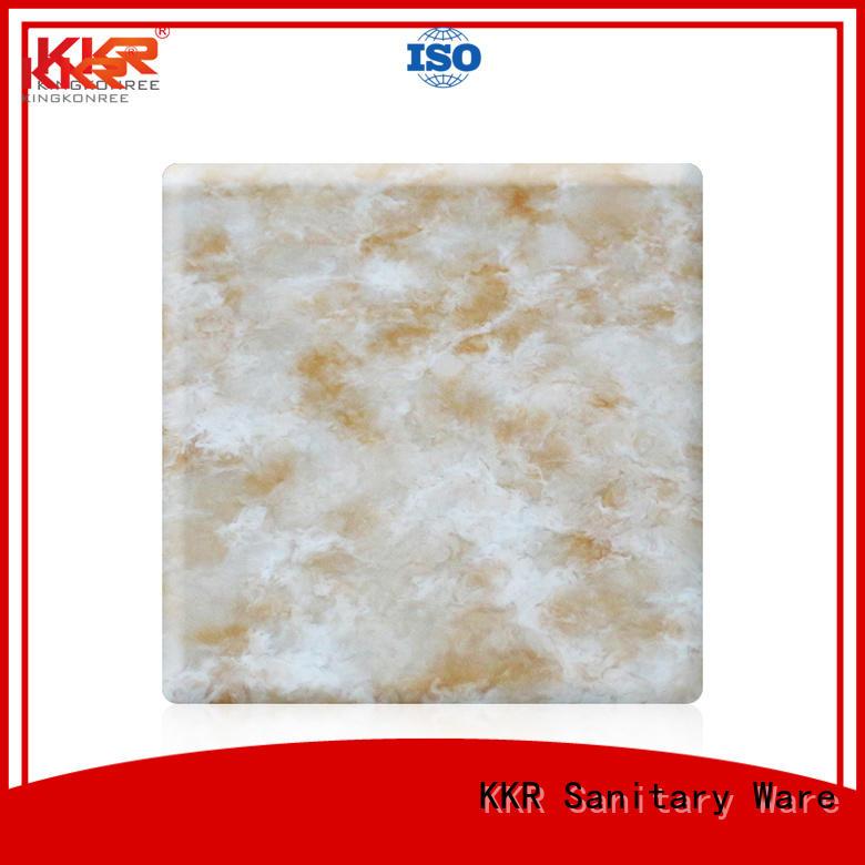 KingKonree Brand solid artificial sheets solid acrylic sheet