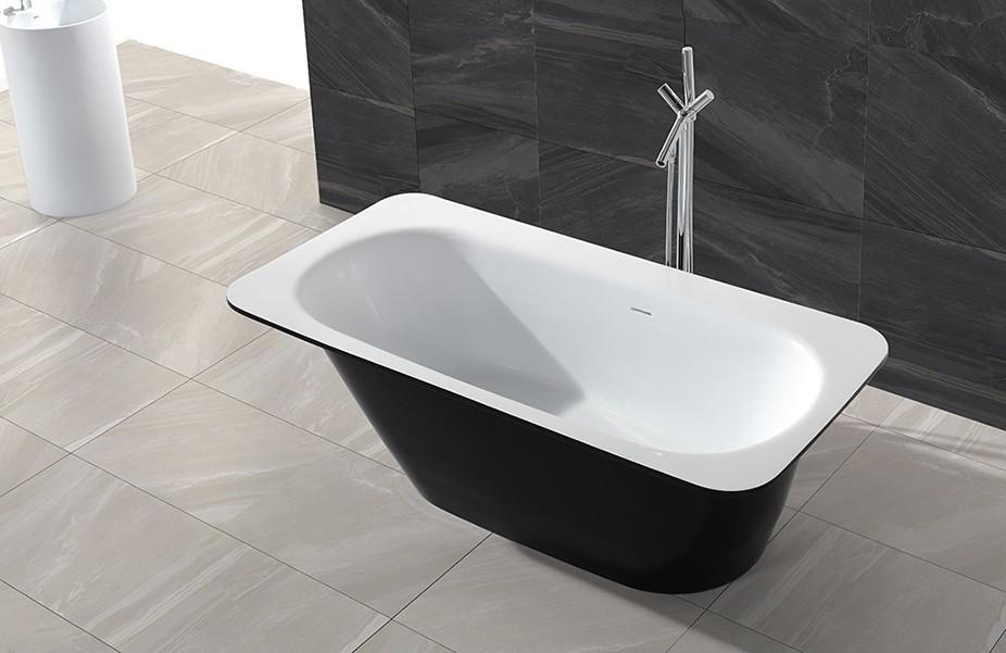 KingKonree small freestanding soaking tub at discount for hotel-1
