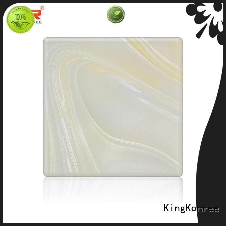 KingKonree durable backlit translucent acrylic wall panels ODM for motel