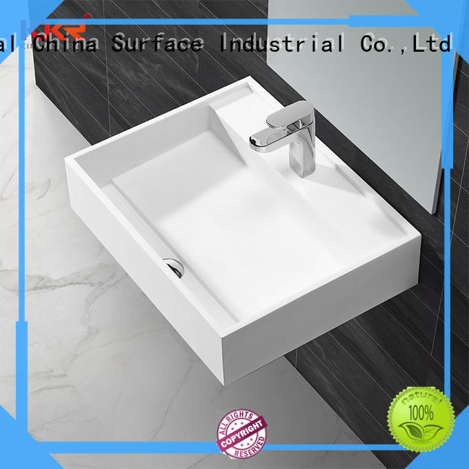 KingKonree free design solid surface basin highly-rated for family