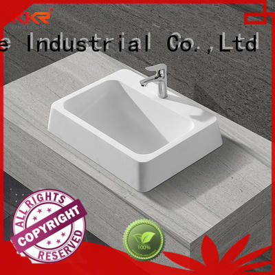KingKonree approved above counter sink bowl at discount for room