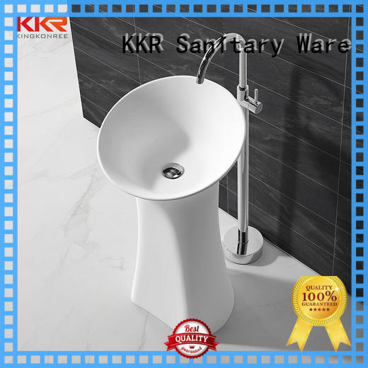 KingKonree freestanding basin customized for bathroom