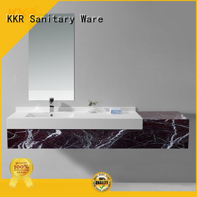 KingKonree marble washroom basin design for motel