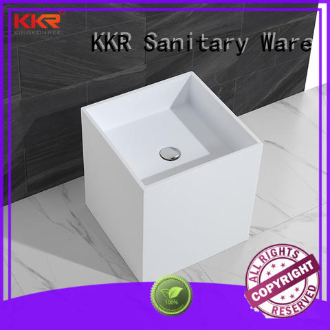 KingKonree height freestanding vanity sink factory price for home