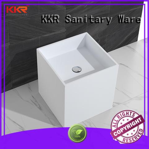 KingKonree height freestanding vanity sink factory price for home