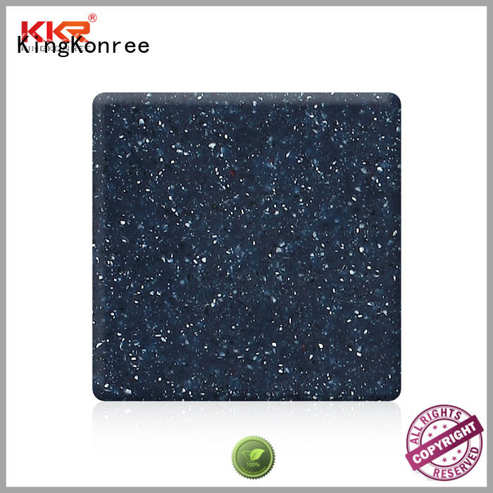 KingKonree solid surface countertop material supplier for hotel