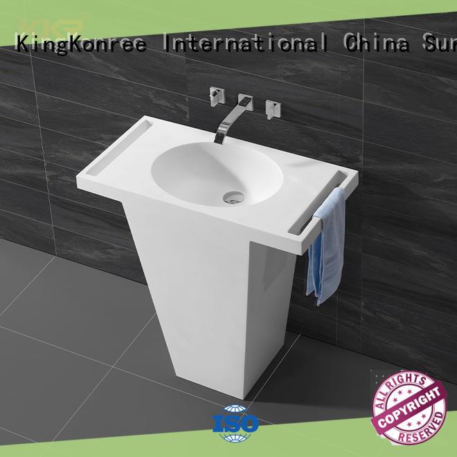 rectangle freestanding basin design for home